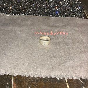 James Avery cross ring!